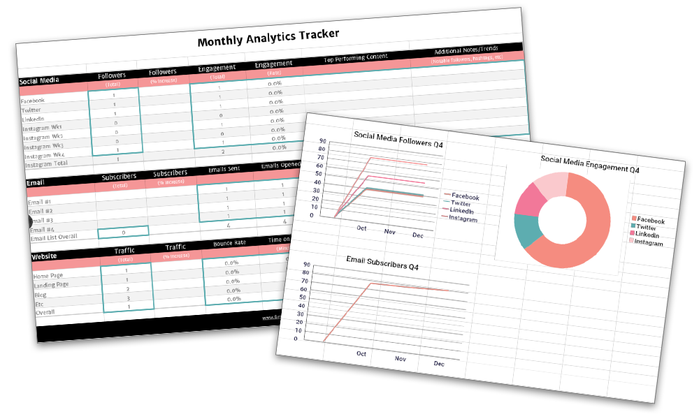 Marketing analytics tracker preview