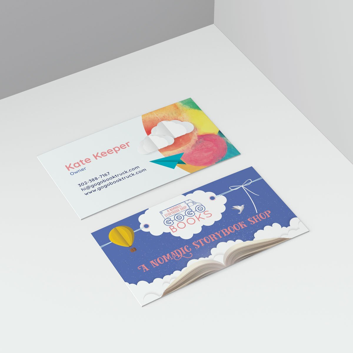 A Business Card design created by BrandSwan for Michelle D McCann
