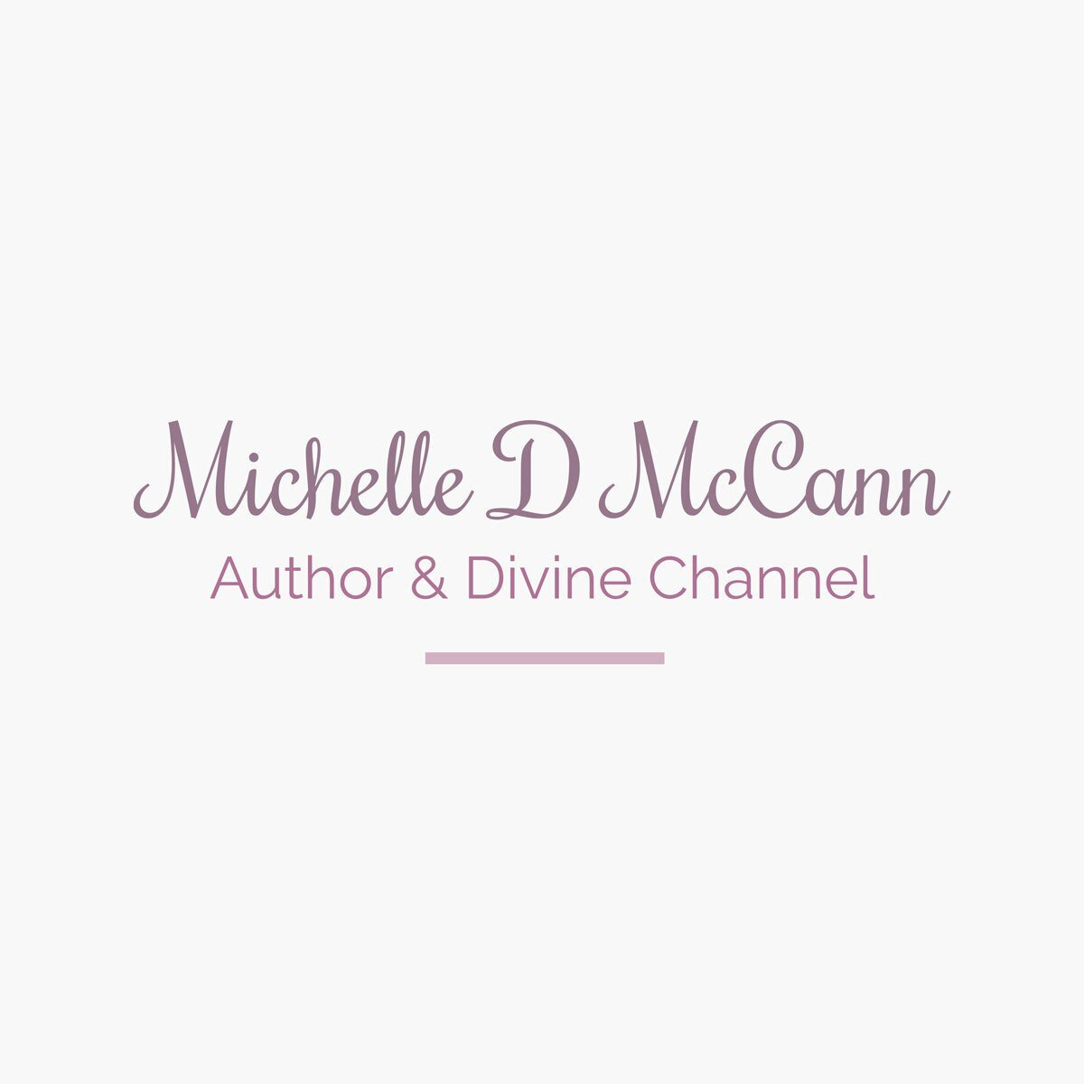 A logo design created by BrandSwan for Michelle D McCann