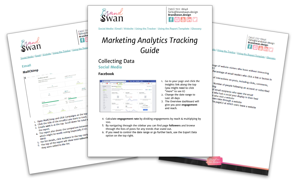 Marketing Analytics Tracking Guide
