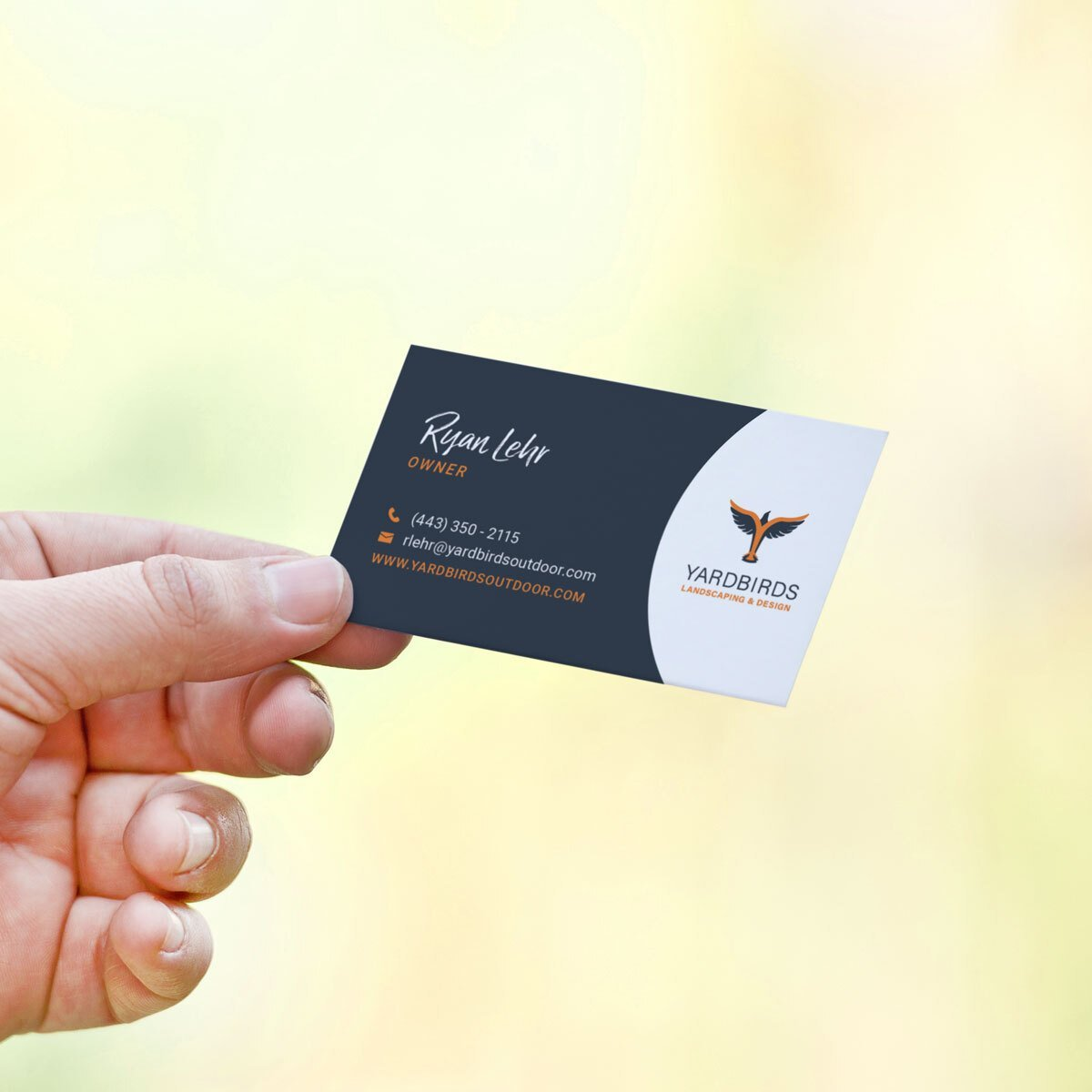 Yardbirds Business Cards Design by BrandSwan, a graphic design company