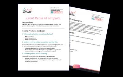 Event Media Kit Template