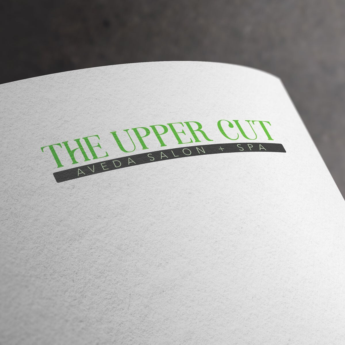 The Upper Cut Salon Logo Design by BrandSwan, a logo design company