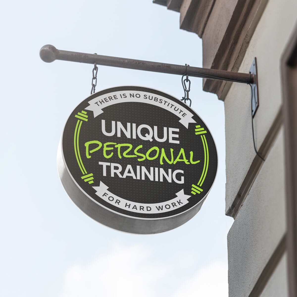 Unique Personal Training Logo Design by BrandSwan, a logo design company