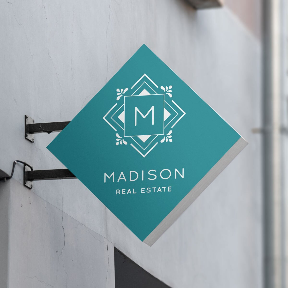 Madison Real Estate Logo Design by BrandSwan, a logo design company