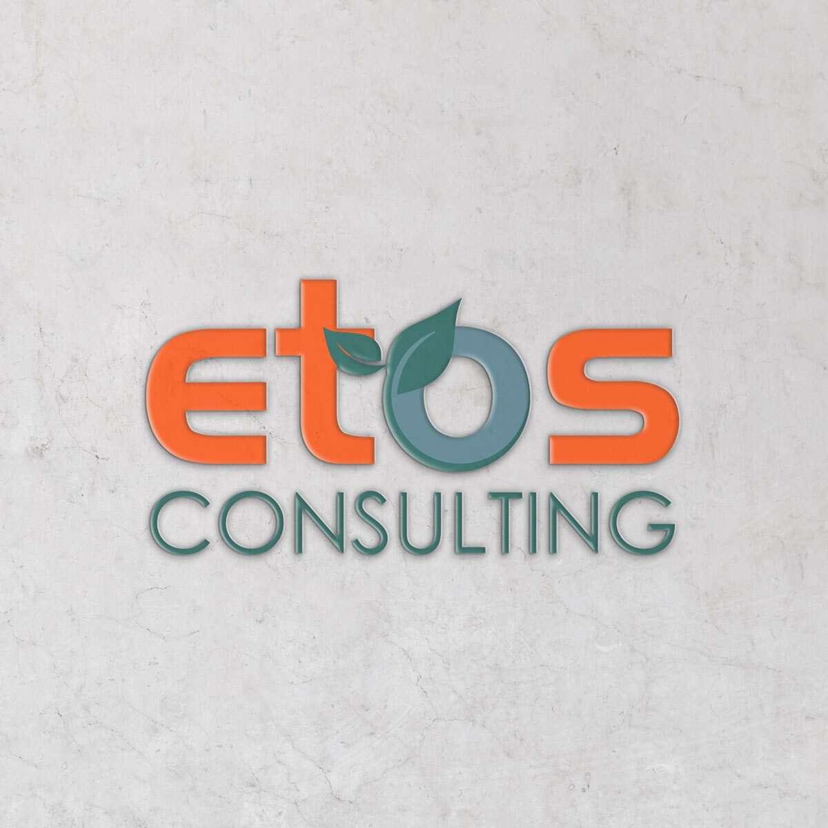 ETOS Consulting Logo Design by BrandSwan, a logo design company