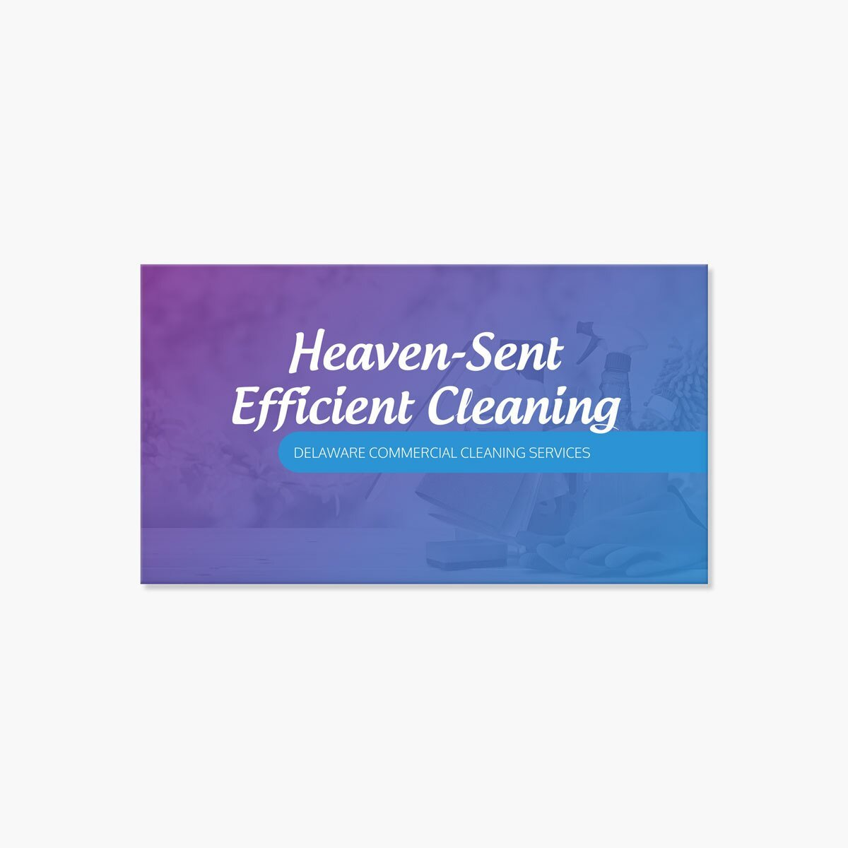 E&V Cleaning Graphic Design by BrandSwan, a graphic design company