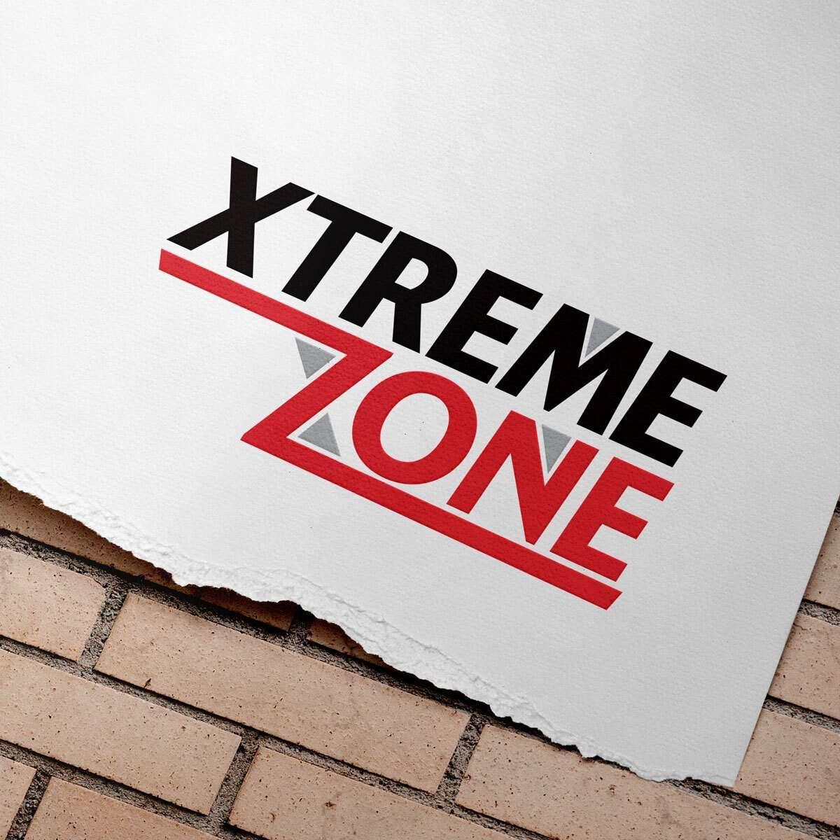 Xtreme Zone Logo Design by BrandSwan, a logo design company