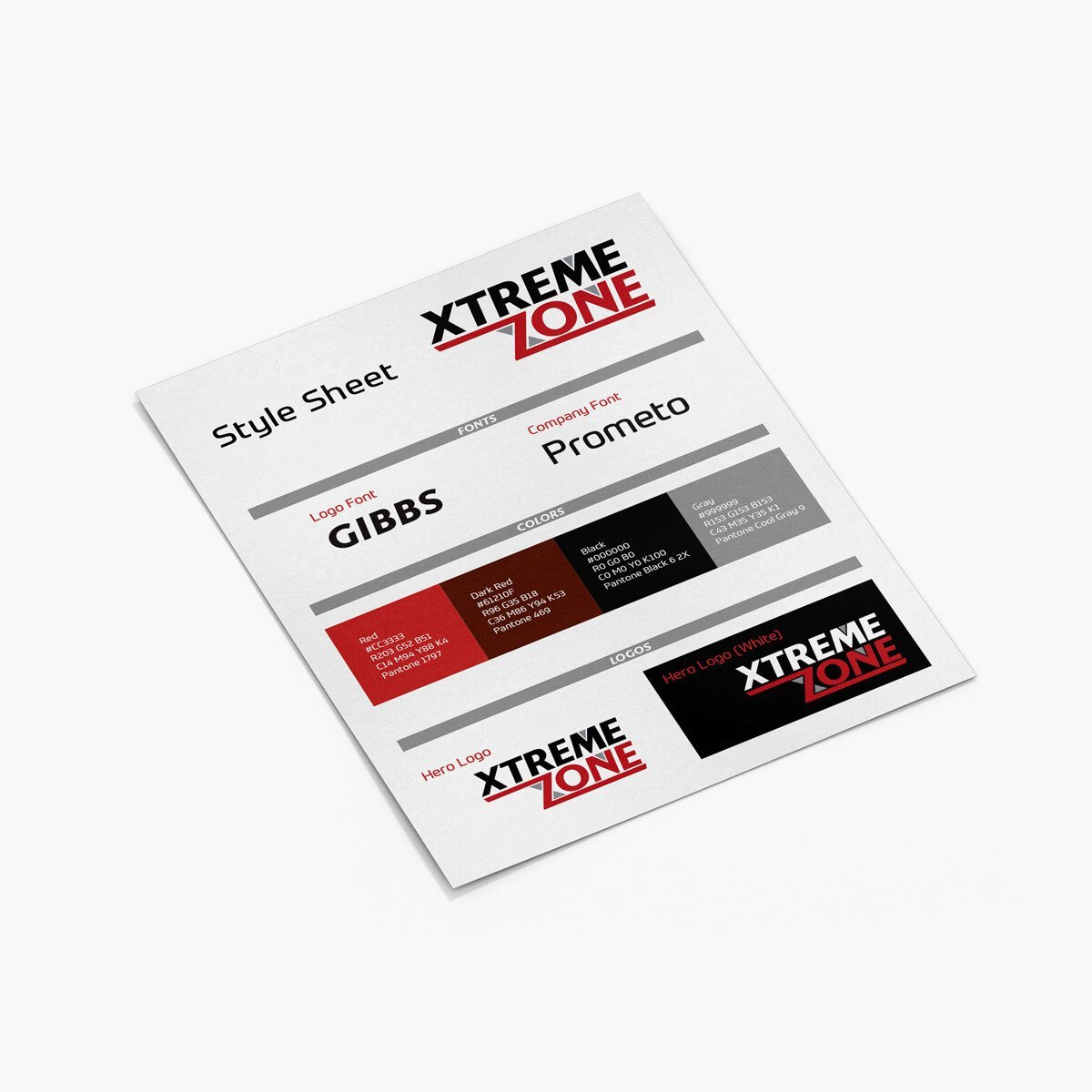 Xtreme Zone Brand Design by BrandSwan, a brand design company