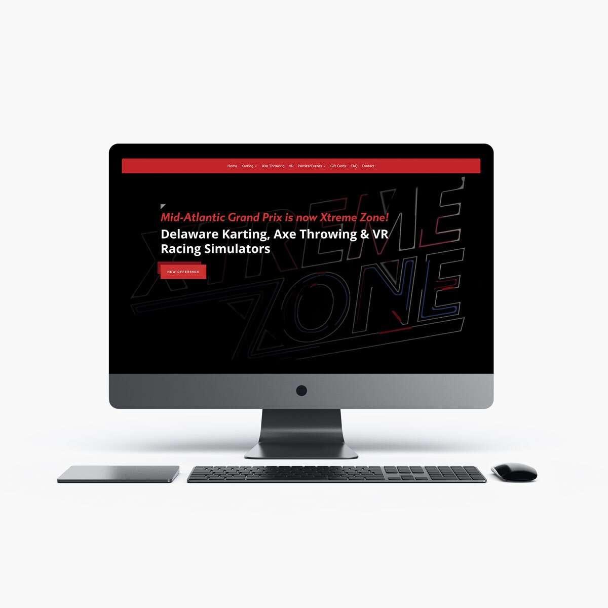 Xtreme Zone Web Design by BrandSwan, a web design company