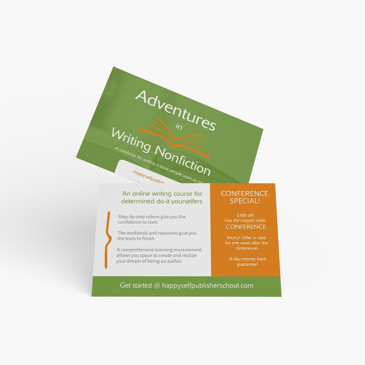CLIENT NAME Business Cards Design by BrandSwan, a graphic design company